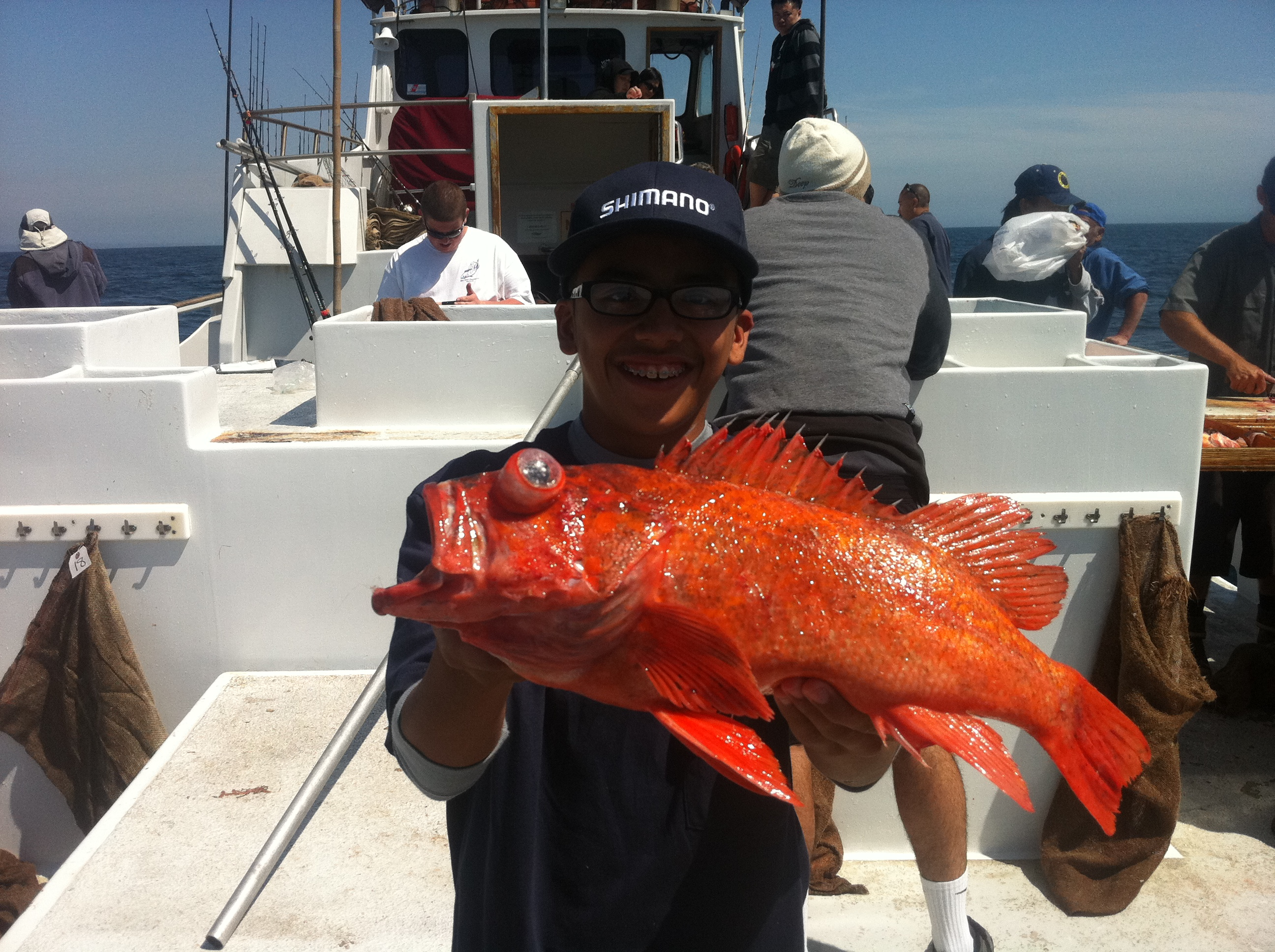 Trip report spring rockfishing on the spitfire socalsalty for Marina del rey fishing report