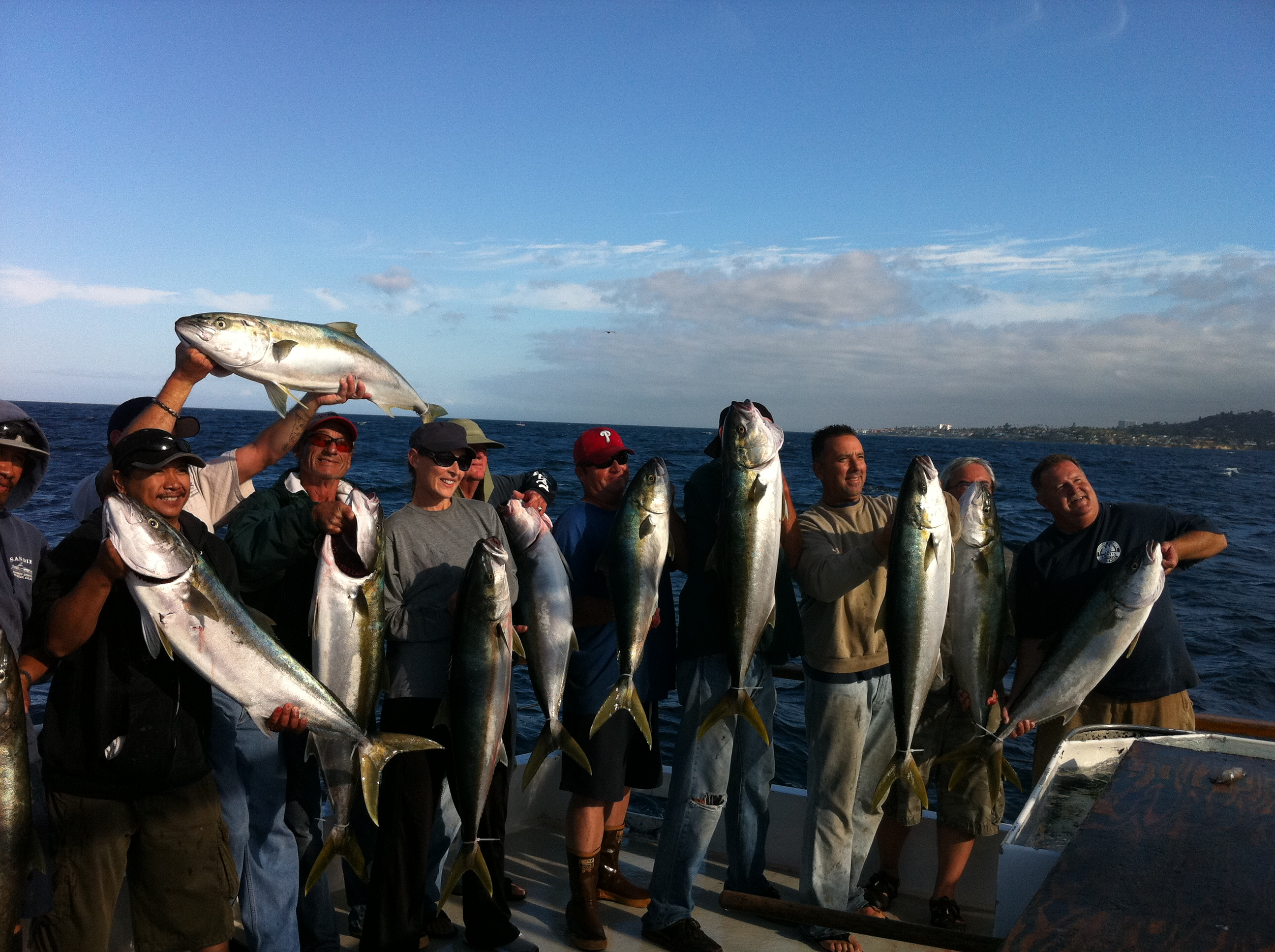 Trip report am new seaforth socalsalty for Seaforth fishing report