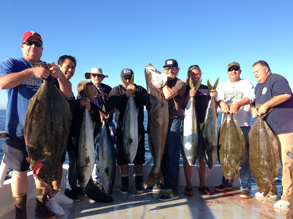 Trip report am new seaforth socalsalty for Seaforth landing fish count