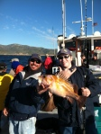 Bryan and Jimmy with an almost 6lb chuckie