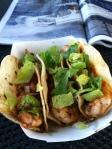 Amie made me shrimp tacos!