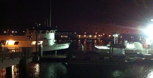 Pre-dawn LB Marina
