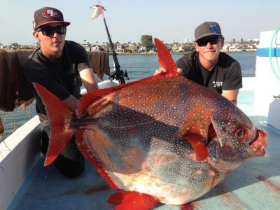 125 lb. Opah on the Western Pride