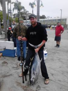 1st tuna of 2013 (photo Richard Q. Marin)